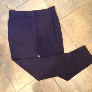 Tory Burch Navy Blue Wool Pants